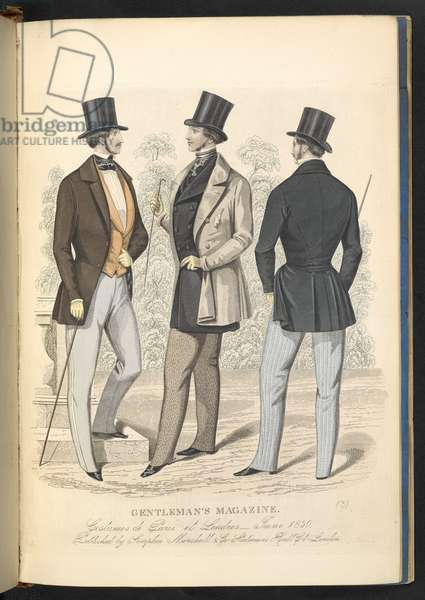 Costumes de Paris et Londres. June 1850. Plate 18.The Gentleman's Magazine of Fashion, Fancy Costumes, and the Regimentals of the Army.London, England : 1828