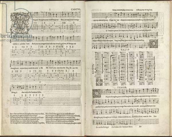 Two pages of music