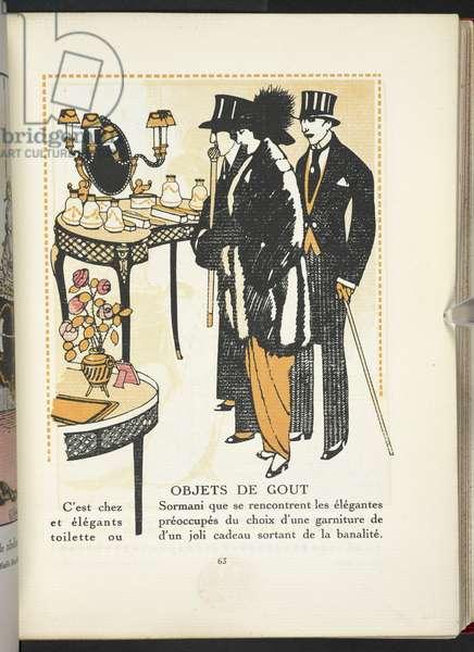 """""""Objets de Gout,"""" advertisement."""