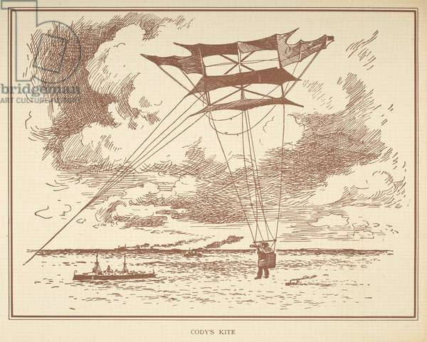 'Cody's kite.'Little people's book of airships. London : Ernest Nister, [1912]
