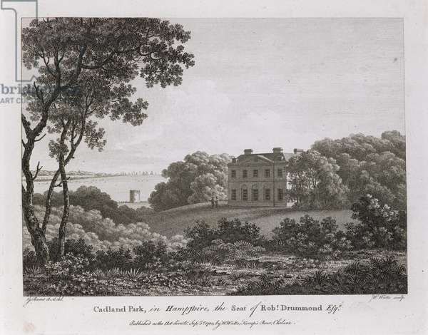 Cadland Park in Hampshire, the seat of Rob. Drummond.