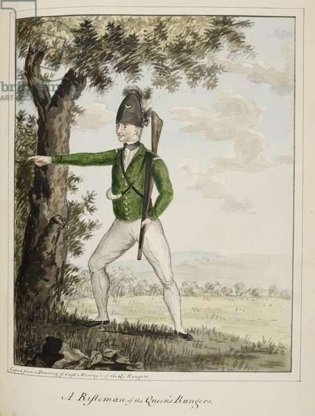 A rifleman of the Queen's rangers
