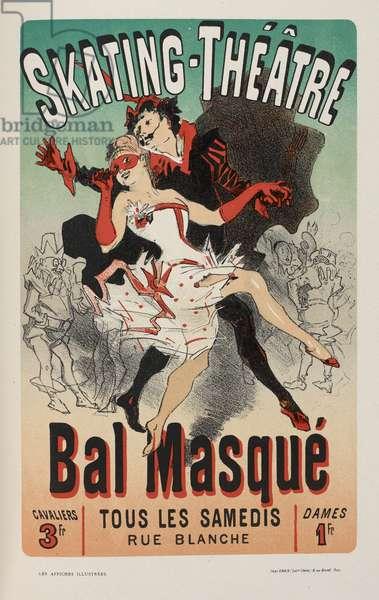 'Les affiches illustrées. Ouvrage orné de...', by Ernest Maindron, 1886 (colour litho)