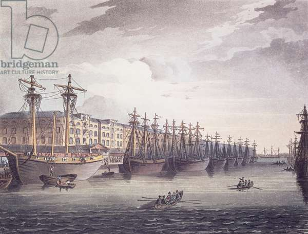 West India Docks, 1810