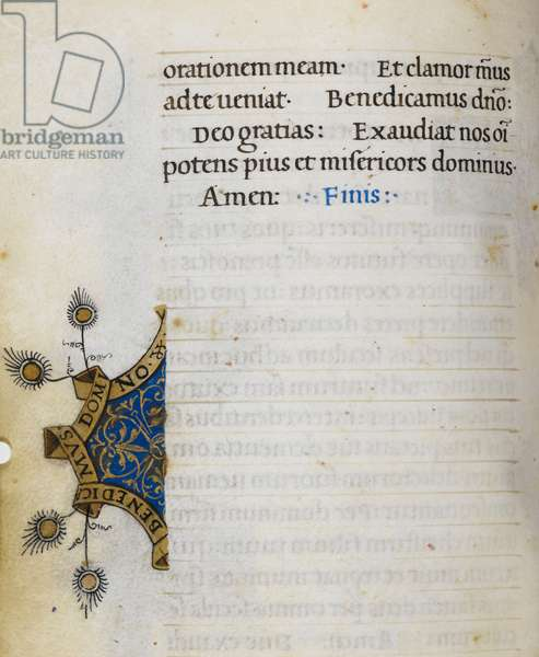 Text page; border decoration