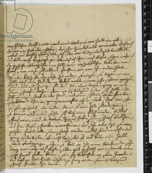 Zweig 65 Letter to Maria Anna Thekla Mozart, 28 February 1778 (ink on paper)