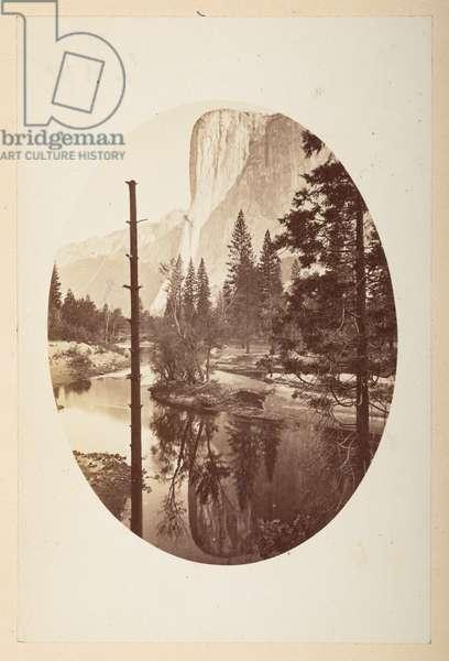 Yosemite Valley, 1865-70 (b/w photo)