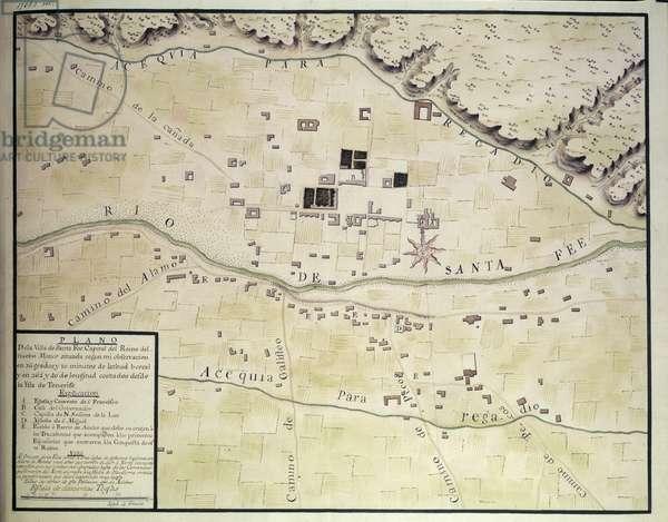 Plan of Santa Fe