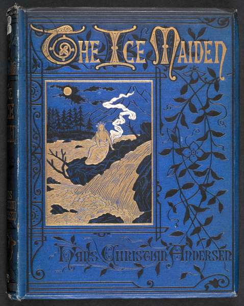 Illustrated cover depicting the ice queen.