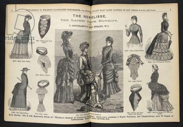The new pelisse.Supplement.Weldon's Illustrated Dressmaker : (Weldon's Illustrated Dressmaker and Milliner.).1880