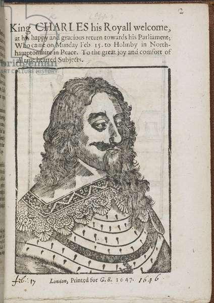 Portrait of King Charles I.