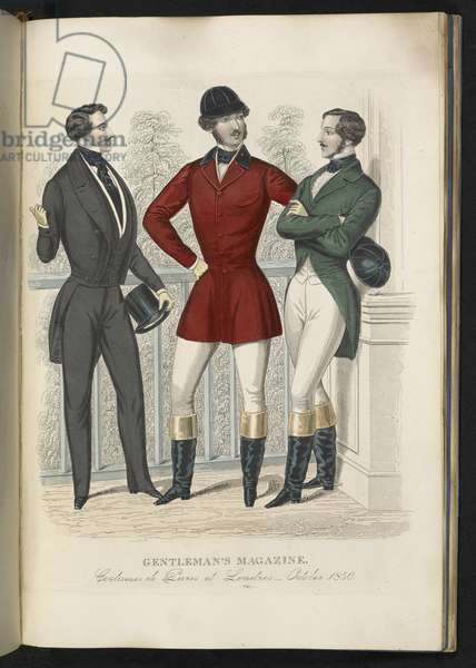 Costumes de Paris et Londres. October 1850. Plate 29.The Gentleman's Magazine of Fashion, Fancy Costumes, and the Regimentals of the Army.London, England : 1828