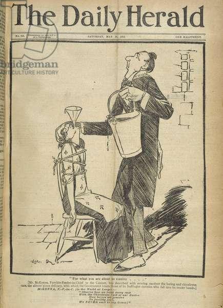 A suffragette in prison