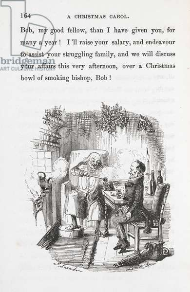 Ebenezer Scrooge and Bob Cratchit.