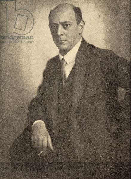 G.1134.n Arnold Schonberg (1874-1951) (photo)