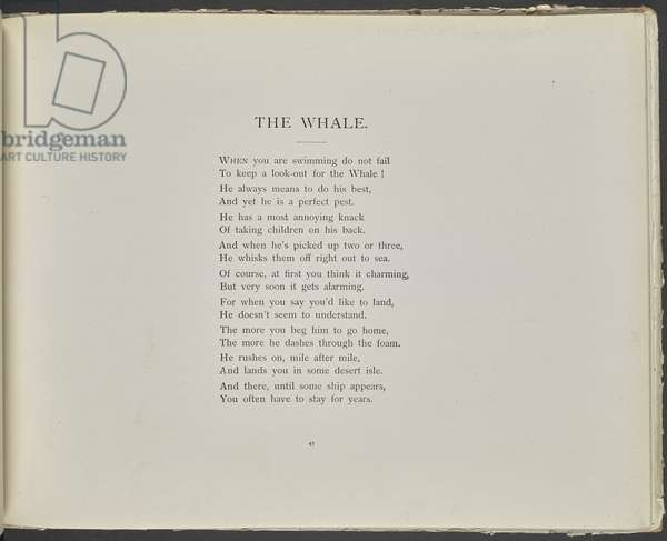 Poem: The whale.