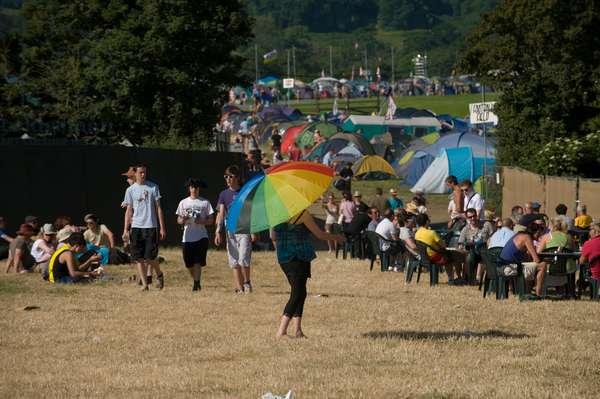 Glastonbury Festival June 2010