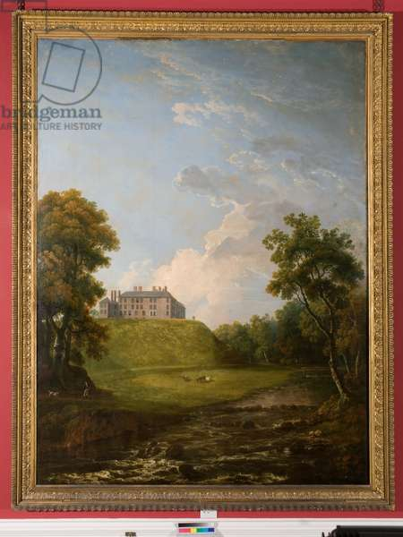 View of Dalkeith Park (oil on canvas)