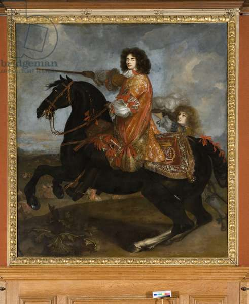 Equestrian portrait of James Scott, 1st Duke of Monmouth and Buccleuch  (oil on canvas)