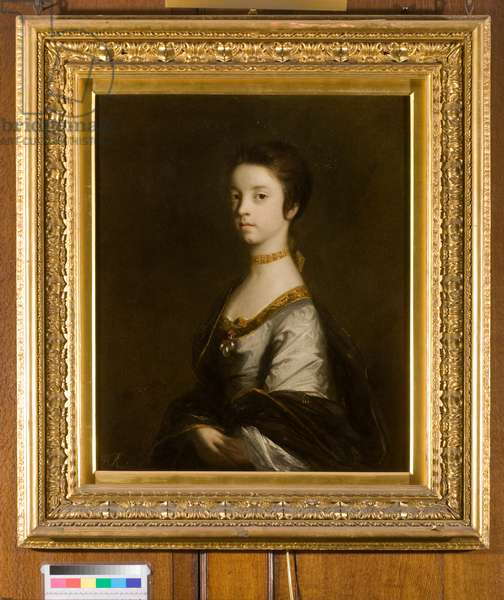 Portrait of Lady Elizabeth Montagu, Duchess of Buccleuch, 1755 (oil on canvas)