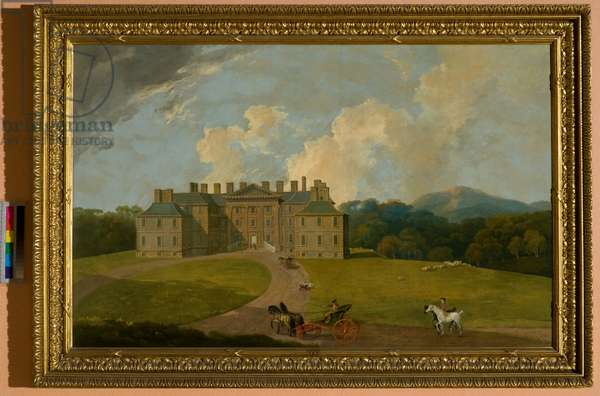 View of Dalkeith House, Dalkeith (oil on canvas)