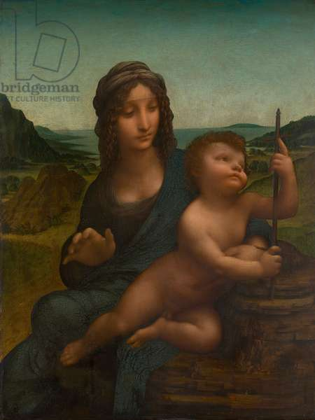 The Madonna of the Yarnwinder, c.1499 (oil on panel)