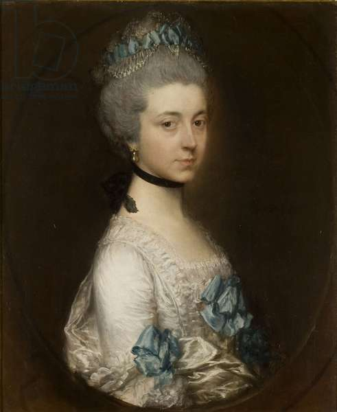 Portrait of Elizabeth Montagu, Duchess of Buccleuch, c.1758 (oil on canvas)