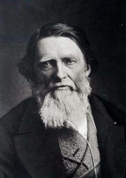John Ruskin, 1879 (photogravure)