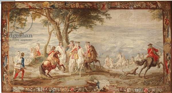 Siege of Bouchain, 13 September 1711 (tapestry)