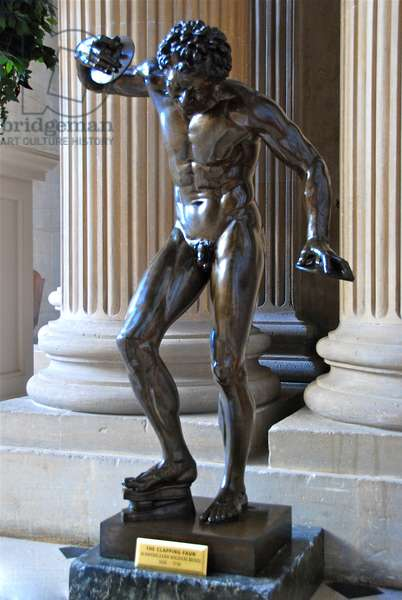 The Clapping Faun (bronze)