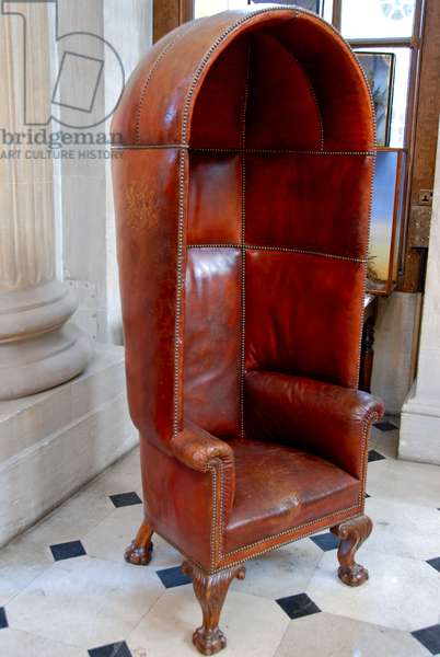 The Porter's Chair in the Great Hall, Blenheim Palace (photo)