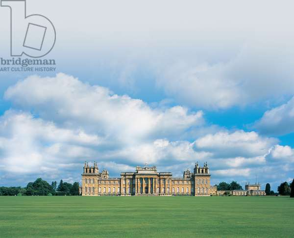 The South Front, Blenheim Palace (photo)