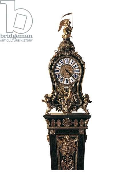 Pedestal clock, c.1740