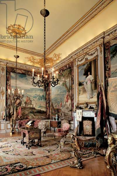 The First State Room, Blenheim Palace, Oxfordshire (photo)