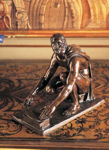 Scythian Slave, c.1700 (bronze)