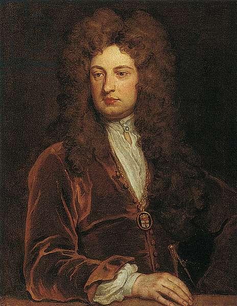 Sir John Vanbrugh (oil on canvas)