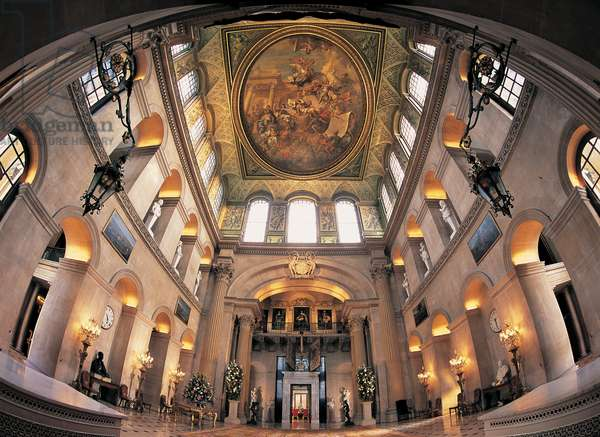 The Great Hall, Blenheim Palace, Oxfordshire (photo)