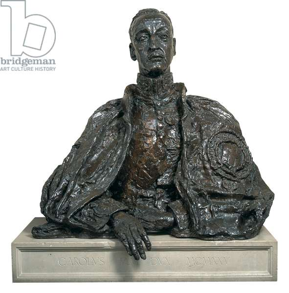 The 9th Duke of Marlborough, c.1925 (bronze)