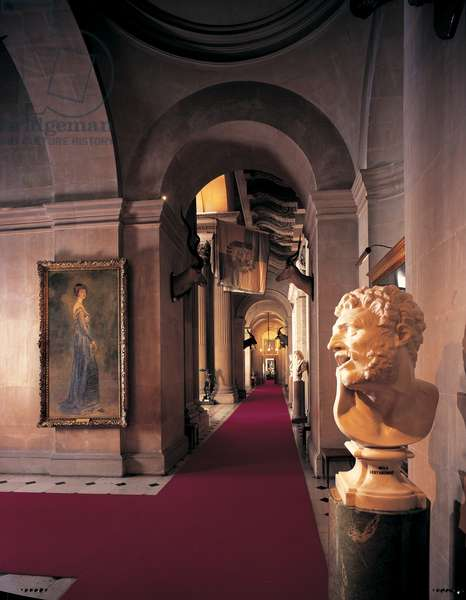 The South Corridor, Blenheim Palace, Oxfordshire (photo)