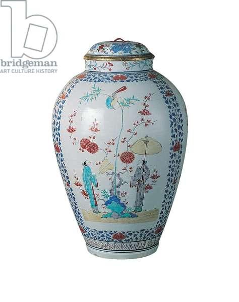 Kakiemon vase (porcelain)