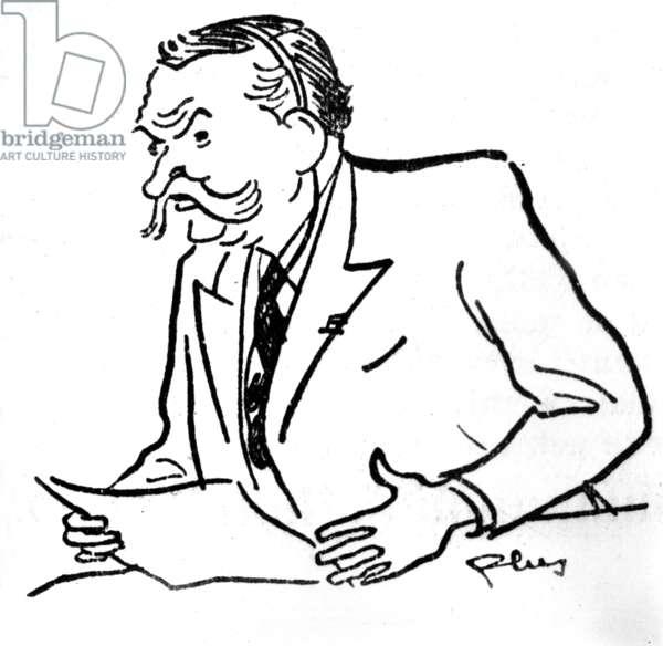 portrait of Jules Zirnheld (drawing)