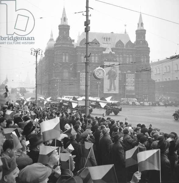 Military defile in Moscow, 1969