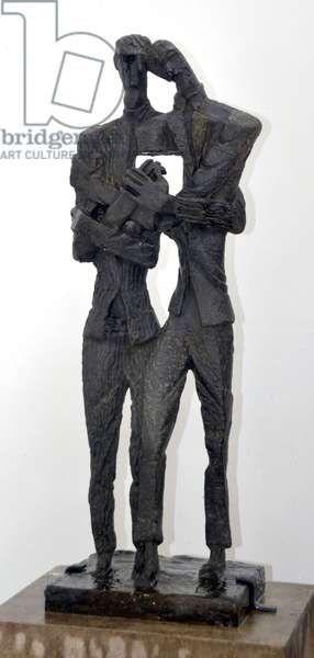 Vincent and Theo, 1964 (bronze)