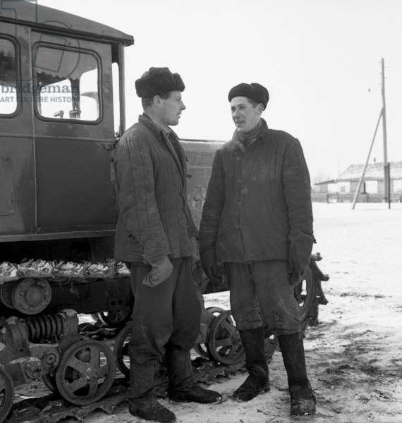 Sovietic peasants, 1959