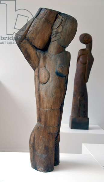 Water Carrier, c.1923 (walnut)