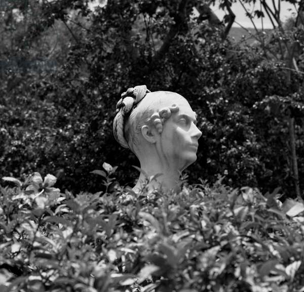 1848 Statue of Josephine de Beauharnais in Martinique on her former property of La Pagerie aux Trois Ilets She was the wife of Napoleon Bonaparte August 1976