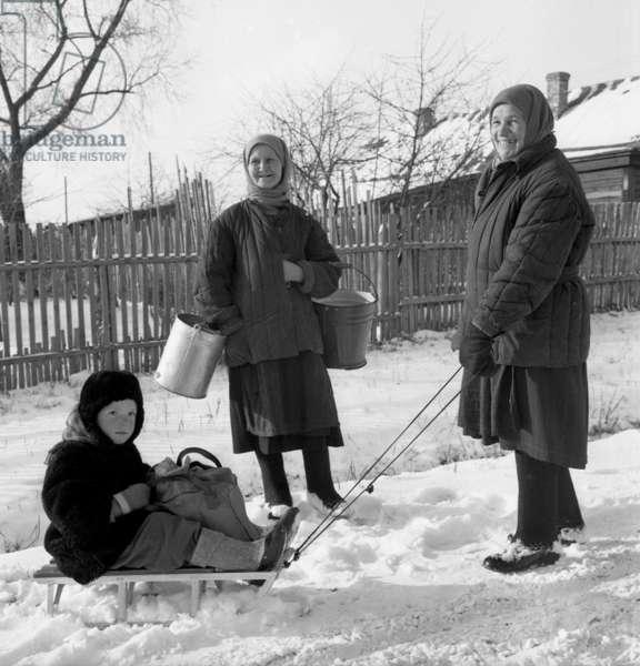 Sovietic peasants 1959