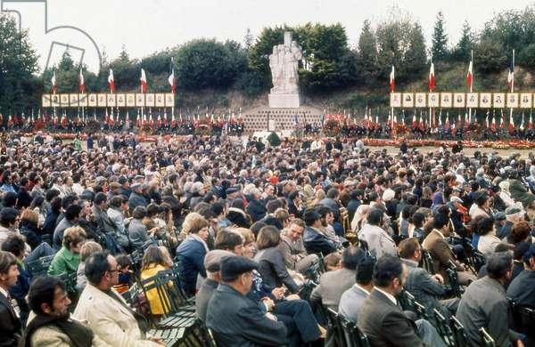 Commemoration des fusilles de Chateaubriand