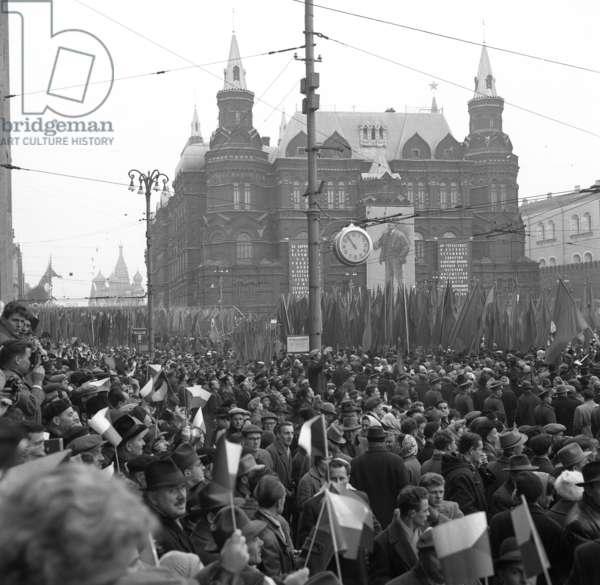 Defile civil, URSS, 1969