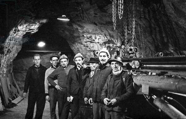 Trieux miners strike